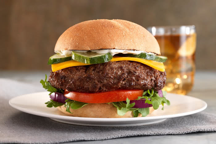 Carmen Creek Bison Burger